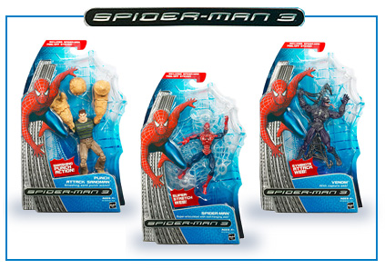 Spider-Man 3 Figures