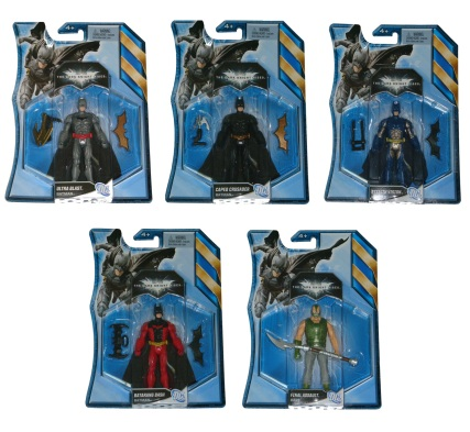 "The Dark Knight Rises 4"" figures"