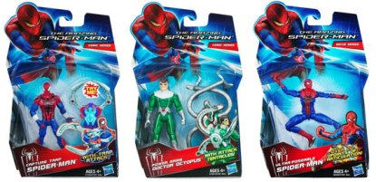 The Amazing Spider-Man figures