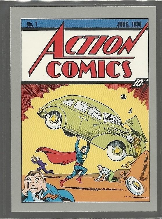 Action Comics 1 DC Cosmic Card 165