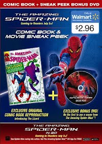 ASM Wal-Mart Bonus DVD + Comic Book