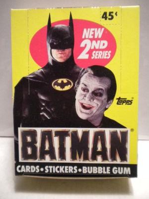 Batman Movie cards 1989