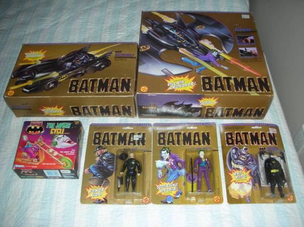 Batman Toy Biz lot