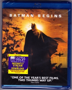Batman Begins on Blu-Ray