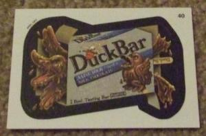 Duck Bar card