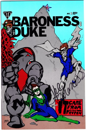 The Baroness and The Duke Comic Cover