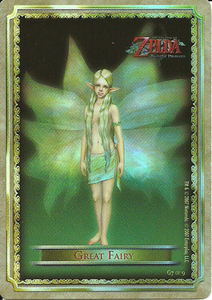 Legend Of Zelda Twilight Princess foil card