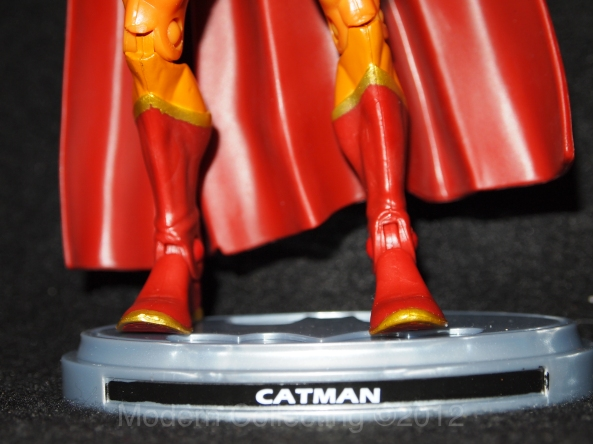 CatMan DC Universe Batman Legacy Edition figure with stand