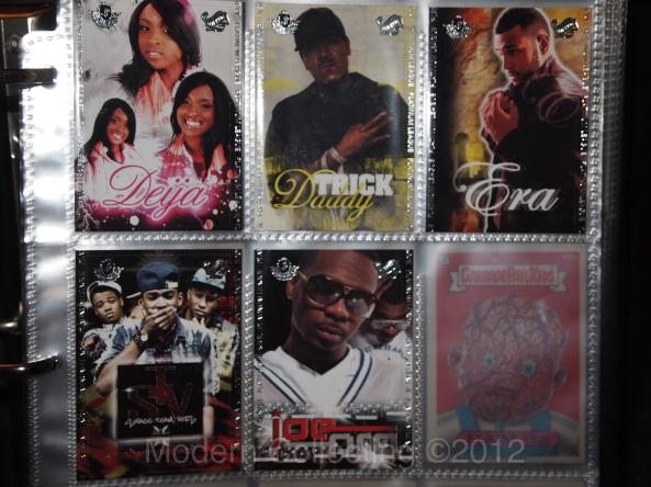 Platinum League Trading Cards 2012