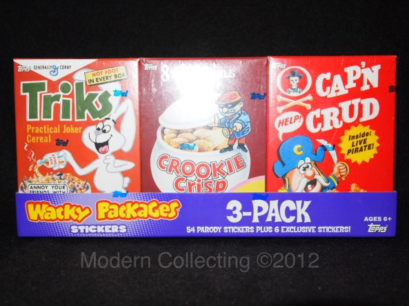 Wacky Packages Cereals