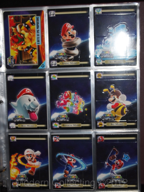 Super Mario Galaxy trading cards