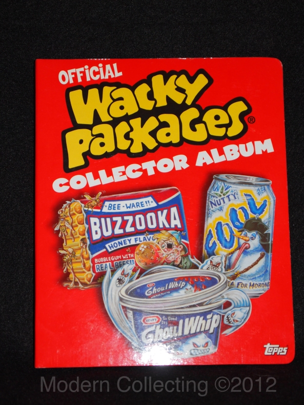 Official Wacky Packages Collector Album