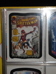 Amazing Spitter-Man card
