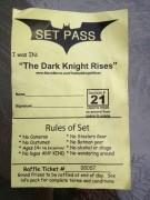 Dark Knight Rises Set Pass