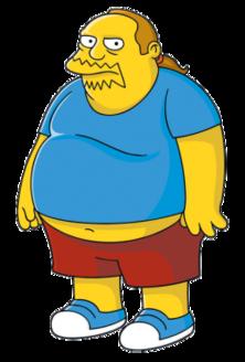 Simpsons Comic guy