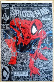 Spiderman 1 Todd McFarlane Silver