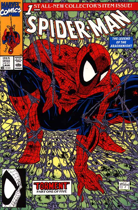Spiderman 1 Todd McFarlane