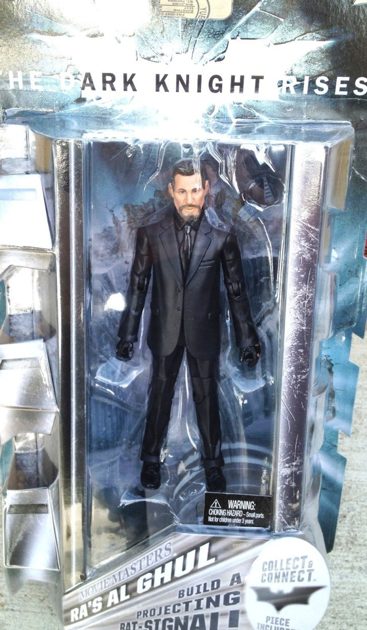 Ra's Al Ghul DKR Movie Master figure