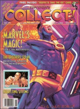 Tuff Stuff's Collect! magazine