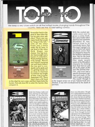 Wizard Top10 Jan 1993