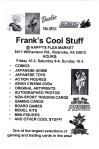 Frank' s Cool Stuff Flyer