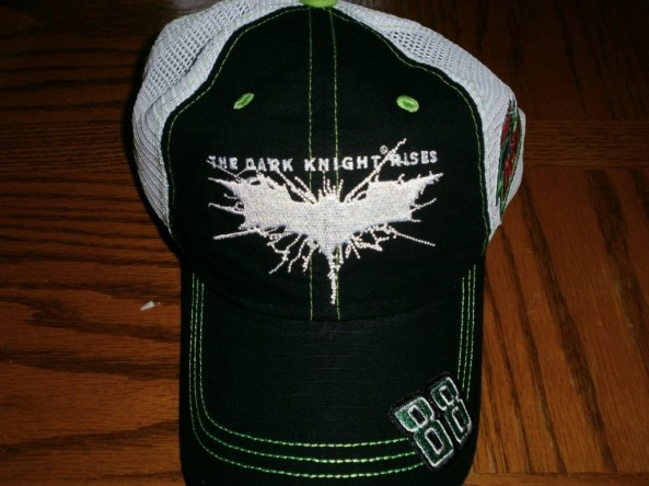 Dale Earnhardt Jr. 88 Dark Knight Rises hat