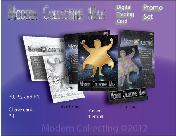 Modern Collecting Modern Collecting Man Trading Card Promo Set