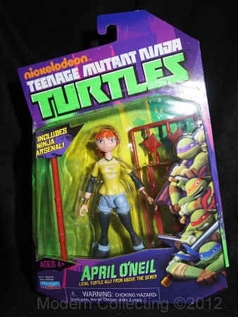 Teenage Mutant Ninja Turtles Nickelodeon April O'Neil