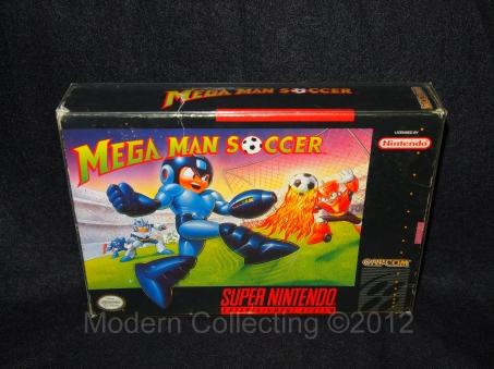Mega Man Soccer SNES