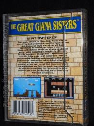 Giana Sisters box C64