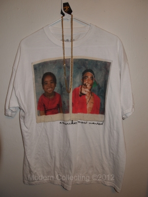 Amerikaz Most Wanted Tupac Shakur t-shirt