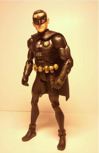 John Blake as Robin Movie Masters custom