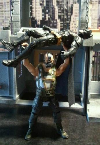 Bane breaking Batman's back