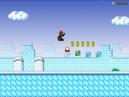 Super Tux screenshot