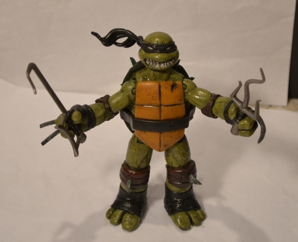 Teenage Mutant Ninja Turtles Nickelodeon Slash custom figure