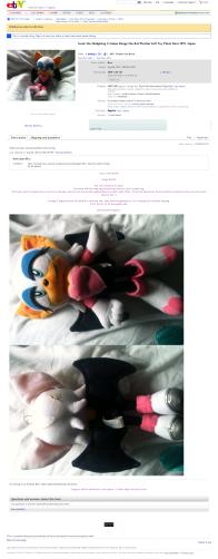Rouge the Bat plush eBay