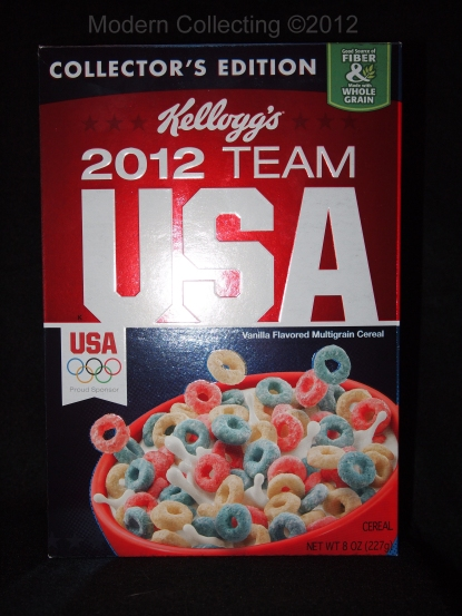 Kellogg's 2012 Team USA Collector's Edition Cereal