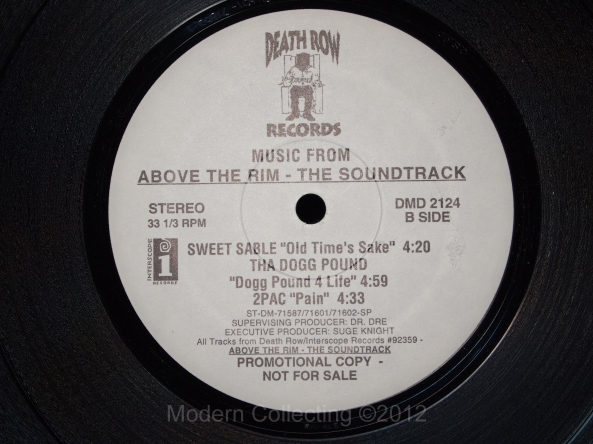 Above the Rim soundtrack LP
