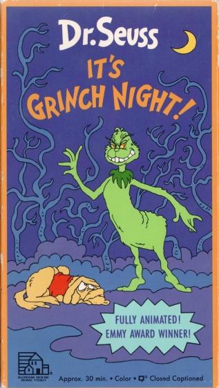ITS GRINCH NIGHT VHS