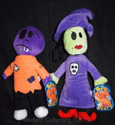 Halloween Sugar Loaf Claw machine plushes