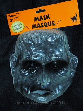 Glow in the Dark Frankenstein mask